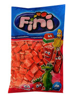 Fini Fizzy Strawberry Bricks, by Fini,  and more Confectionery at The Professors Online Lolly Shop. (Image Number :10663)