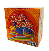Vidal Rolla Belts - Rainbow (24 belts x 19g in a display unit)