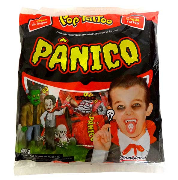 bc0ccd0685a84e Panico Pops - Tongue Tattoo and more Confectionery at The Professors Online  Lolly Shop. (