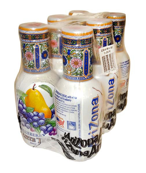 Arizona Ice Tea -  Blueberry White, by Arizona,  and more Beverages at The Professors Online Lolly Shop. (Image Number :10614)