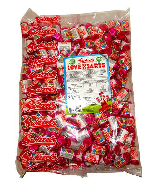 Swizzels Love Heart  Mini Rolls, by Swizzles Matlow,  and more Confectionery at The Professors Online Lolly Shop. (Image Number :10581)