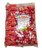 Swizzels Love Heart  Mini Rolls (3kg bag - 260 rolls)