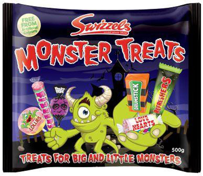 Swizzels Monster Treats - Share Pack, by Swizzels Matlow,  and more Confectionery at The Professors Online Lolly Shop. (Image Number :10650)