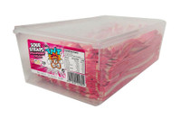 TNT Sour Straps Strawberries and Cream (210 pc Display unit)