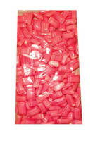 Rock Candy Pillows - Large - Pin Striped - Pink with a Strawberry and Cream Flavour, by Designer Candy,  and more Confectionery at The Professors Online Lolly Shop. (Image Number :10607)
