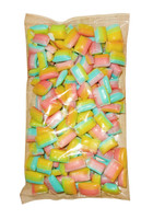 Rock Candy Pillows - Large - Pastel Rainbow (500g bag)