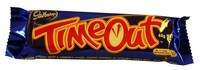 Cadbury Time Out Bars, by Cadbury,  and more Confectionery at The Professors Online Lolly Shop. (Image Number :10943)