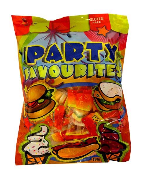 Lolliland Gummi Party Favourites, by Lolliland,  and more Confectionery at The Professors Online Lolly Shop. (Image Number :10556)
