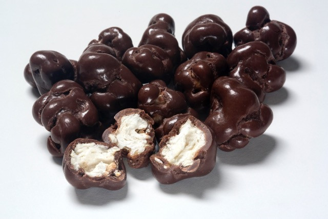 Premium Milk Chocolate Salted Caramel Popcorn and more Confectionery at The Professors Online Lolly Shop. (Image Number :11440)