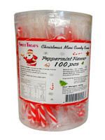 BBS - Christmas Mini Candy Cane Jar (100 pc x 4g pops)