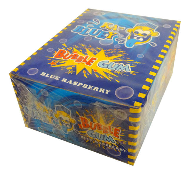 Ka-Bluey Bubble Gum Stick Bars - Blue Raspberry, by AIT Confectionery,  and more Confectionery at The Professors Online Lolly Shop. (Image Number :13979)
