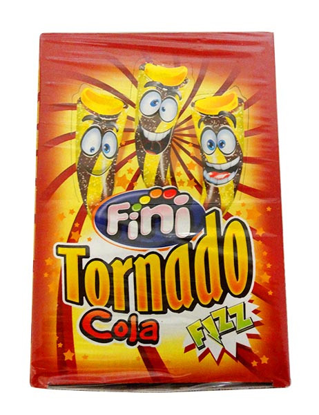 Fini Tornado - Cola Fizz, by Fini,  and more Confectionery at The Professors Online Lolly Shop. (Image Number :10710)