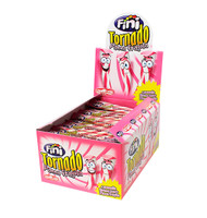 Fini Tornado - Strawberry and Cream, by Fini,  and more Confectionery at The Professors Online Lolly Shop. (Image Number :10668)