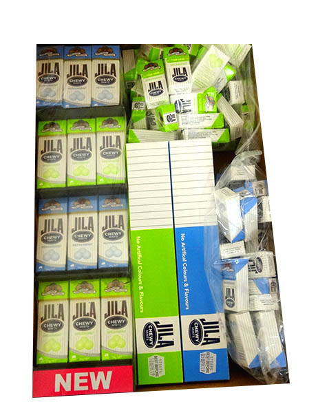 Jila Chewy Mints - Starter Pack, by Ferndale Confectionery/Jila,  and more Confectionery at The Professors Online Lolly Shop. (Image Number :10721)