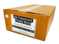 Jila Chewy Mini Mint Packs - Peppermint (300pc box)