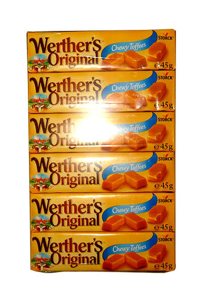 Werthers Original - Chewy Caramel Toffee, by Storck,  and more Confectionery at The Professors Online Lolly Shop. (Image Number :10690)