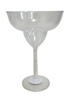 Clear Plastic Candy Buffet Jumbo Cocktail Glass and more Partyware at The Professors Online Lolly Shop. (Image Number :10758)
