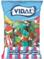 Vidal Jelly Fish, by vidal,  and more Confectionery at The Professors Online Lolly Shop. (Image Number :11111)