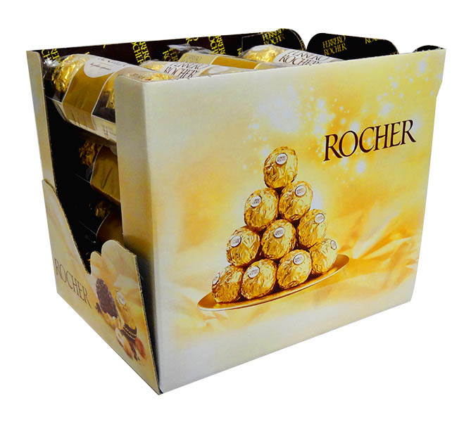 Ferrero Rocher 3 pack, by Ferrero,  and more Confectionery at The Professors Online Lolly Shop. (Image Number :10808)