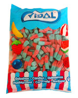 Vidal Tutti Frutti Bottles (250pc - approx 1.6kg bag)
