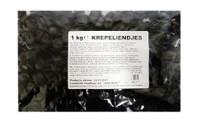 K & H Dutch Licorice - Krepeliendjes (Drops) (1kg bag)