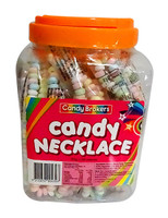 Candy Necklace (22g individually wrapped x 36pc tub)