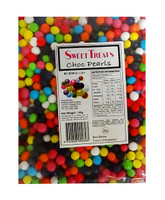 Sweet Treats Choc Pearls - Mixed Colours and more Confectionery at The Professors Online Lolly Shop. (Image Number :10881)