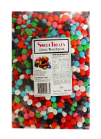 Sweet Treats Choc Buttons - Mixed Colours and more Confectionery at The Professors Online Lolly Shop. (Image Number :10878)