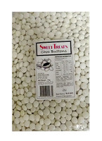 Sweet Treats Choc Buttons - White (1kg bag)