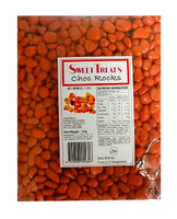 Chocolate Rocks Bulk - Orange, by Brisbane Bulk Supplies,  and more Confectionery at The Professors Online Lolly Shop. (Image Number :10865)