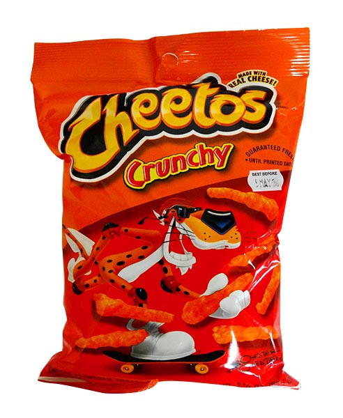 Cheetos Crunchy - Original and more Snack Foods at The Professors Online Lolly Shop. (Image Number :10849)