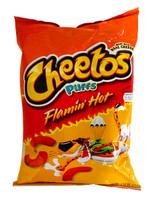 Cheetos Puffs - Flamin Hot and more Snack Foods at The Professors Online Lolly Shop. (Image Number :10846)