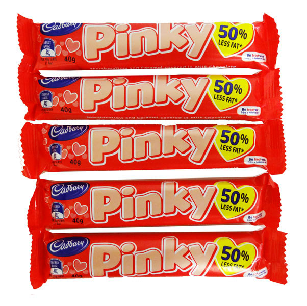 Cadbury Pinky Bars - Short Date Special, by Cadbury,  and more Confectionery at The Professors Online Lolly Shop. (Image Number :10857)