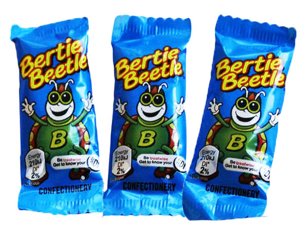 Bertie Beetle and more Confectionery at The Professors Online Lolly Shop. (Image Number :10844)