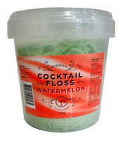 Persian Cocktail Green Fairy Floss - Watermelon (340g tub)