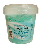 Persian Cocktail Blue Fairy Floss - Bubblegum (340g tub)