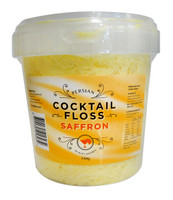 Persian Cocktail Yellow Fairy Floss - Saffron and more Confectionery at The Professors Online Lolly Shop. (Image Number :11350)