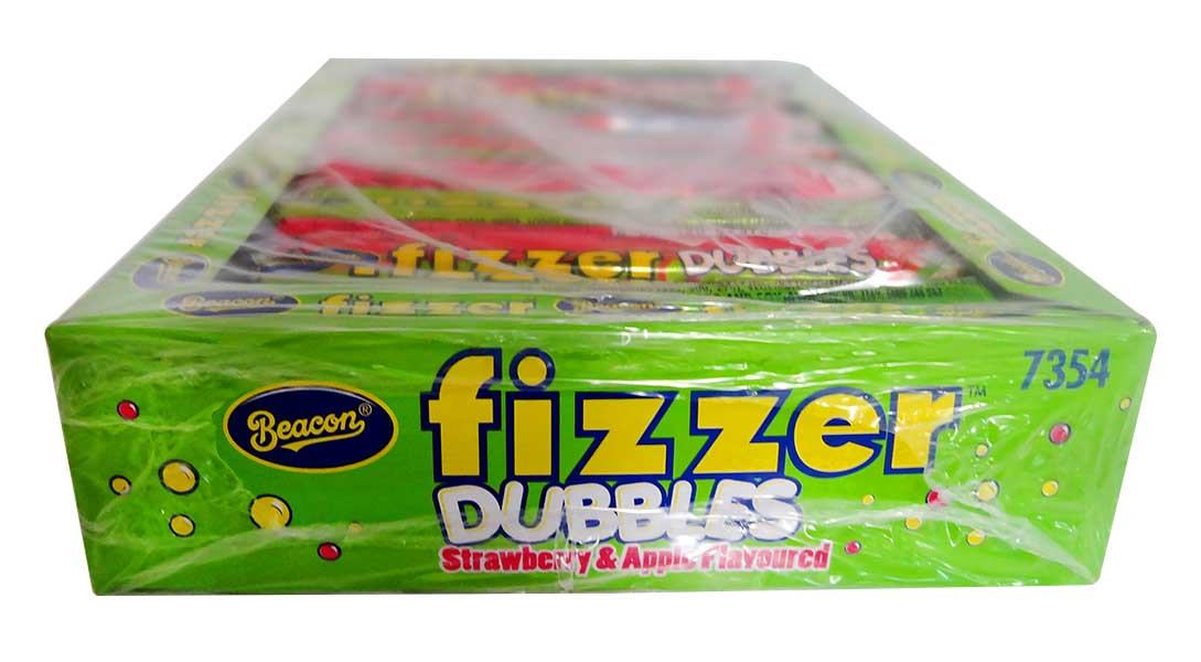 Beacon Fizzers Doubles - Strawberry and Apple, by Beacon,  and more Confectionery at The Professors Online Lolly Shop. (Image Number :11313)