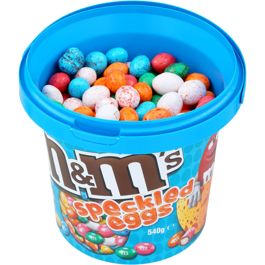 M&M Crispy - Speckled Eggs, by Mars,  and more Confectionery at The Professors Online Lolly Shop. (Image Number :10926)