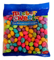 Mister Sweet Giant Speckled Eggs - bulk (1kg bag)