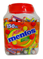 Mentos Mini Rolls - Fruit Mix (150 roll Display Unit)