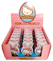 Hello Kitty Speckled Easter Eggs and more Confectionery at The Professors Online Lolly Shop. (Image Number :12778)