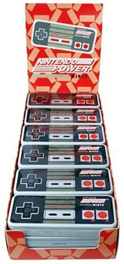 Nintendo Controller Power Mints and more Confectionery at The Professors Online Lolly Shop. (Image Number :10911)