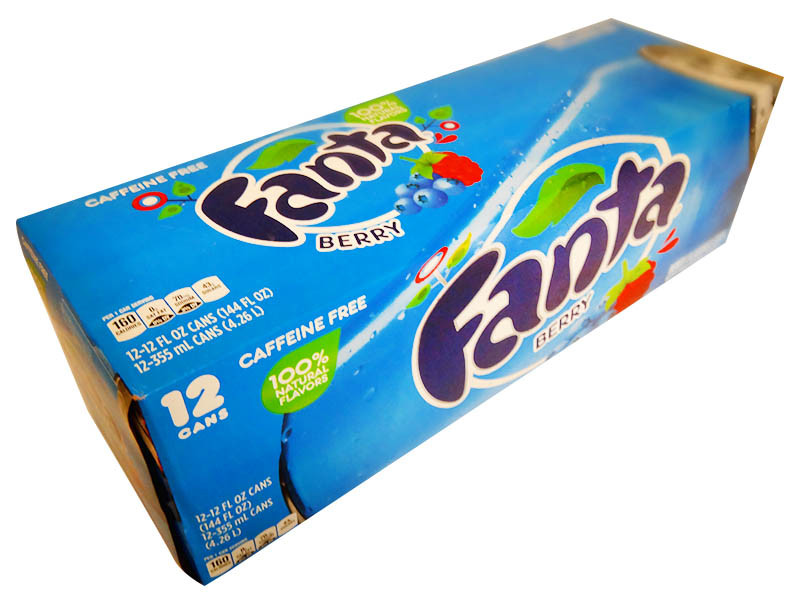 Fanta - Berry, by Dr Pepper,  and more Beverages at The Professors Online Lolly Shop. (Image Number :11752)