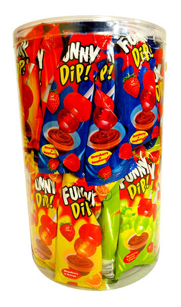 Sweet Treats Funny Dip lollipop, by Brisbane Bulk Supplies,  and more Confectionery at The Professors Online Lolly Shop. (Image Number :11261)