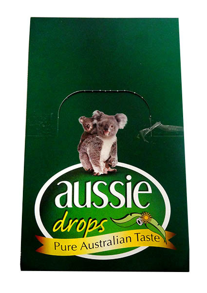 Aussie Drops - Eucalyptus Drops and more Confectionery at The Professors Online Lolly Shop. (Image Number :11233)