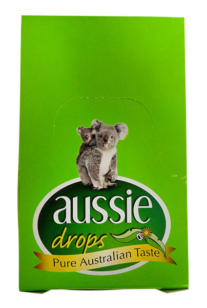 Aussie Drops - Honey & Eucalyptus Drops, by Confectionery Trading Company,  and more Confectionery at The Professors Online Lolly Shop. (Image Number :11232)