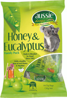 Aussie Drops - Honey and Eucalyptus Sharepack 6 x 25g bags (12x150g Bags)
