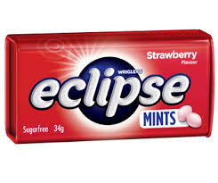 Eclipse Mints Strawberry and more Confectionery at The Professors Online Lolly Shop. (Image Number :10991)