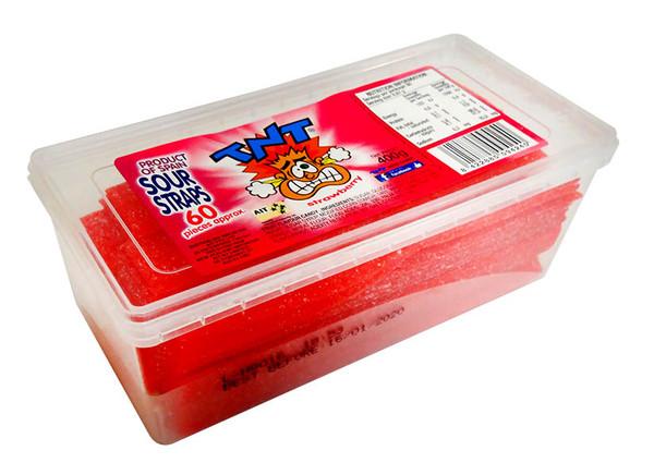 Sour strip straps low fat